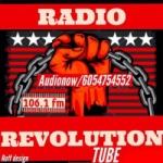 Logo da emissora Rádio Revolutions FM