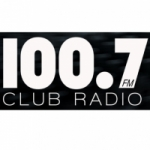 Logo da emissora KLBE 100.7 FM