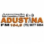 Logo da emissora Rádio Adustina 104.9 FM