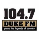 Logo da emissora KMJO 104.7 FM