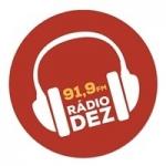 Logo da emissora Rádio Dez 91.9 Fm