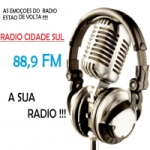 Logo da emissora Rádio Cidade Sul