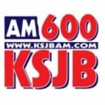 Logo da emissora KSJB 600 AM