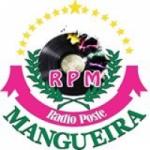 Logo da emissora Rádio Poste Mangueira