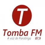Logo da emissora Rádio Tomba 87.9 FM