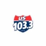 Logo da emissora KUSB 103.3 FM