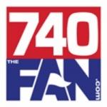 Logo da emissora KVOX 740 AM