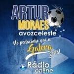 Logo da emissora Rádio A Voz Celeste Artur Moraes