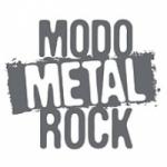 Logo da emissora Rádio Cidade Modo Metal Rock