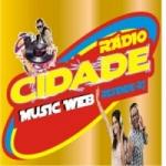 Logo da emissora Rádio Cidade Music Web