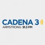 Logo da emissora Radio Cadena 3 91.3 FM