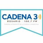 Logo da emissora Radio Cadena 3 106.7 FM