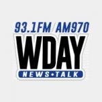 Logo da emissora WDAY 970 AM