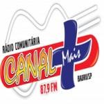 Logo da emissora Rádio Canal Mais 87.9 FM