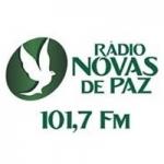 Logo da emissora Rádio Novas De Paz 101.7 FM