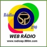 Logo da emissora Rádio SP 890