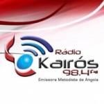 Logo da emissora Radio Kairós 98.4 FM