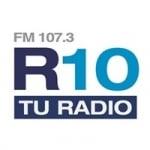 Logo da emissora Radio 10 107.3 FM