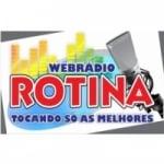 Logo da emissora Webrádio Rotina