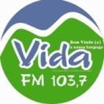 Logo da emissora Rádio Vida 103.7 FM