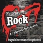 Logo da emissora Manaus Web Rock