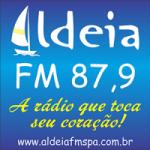 Logo da emissora Rádio Aldeia 87.9 FM