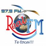 Logo da emissora Radio Real 97.9 FM
