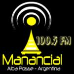 Logo da emissora Radio Manancial 100.5 FM