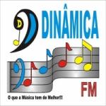 Logo da emissora Dinâmica FM