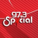 Logo da emissora Radio Spacial 97.3 FM