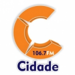 Logo da emissora Rádio Cidade 106.7 FM