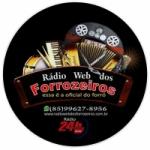 Logo da emissora Radio Web dos Forrozeiros