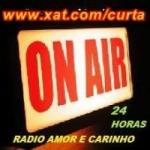Logo da emissora Rádio Amor e Carinho