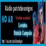 Logo da emissora Rádio Patrick e Amigos