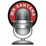 Logo da emissora WR Santana