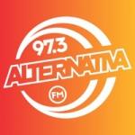 Logo da emissora Rádio Alternativa 97.3 FM