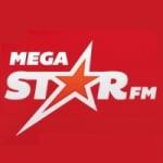 Logo da emissora Radio Mega Star FM