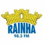 Logo da emissora Rádio Rainha 98.3 FM