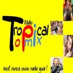 Logo da emissora Rádio Tropical Top Mix