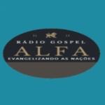 Logo da emissora Rádio Gospel Alfa