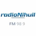 Logo da emissora Radio Nihuil 98.9 FM