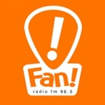 Logo da emissora Rádio Fan 96.5 FM