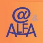Logo da emissora Rádio Alfa Bueno Brandão FM
