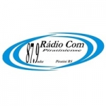 Logo da emissora Rádio Piratiniense 87.9 FM