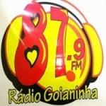 Logo da emissora Rádio Goianinha 87.9 FM