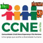 Logo da emissora Rádio CCNE da Vila
