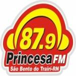 Logo da emissora Rádio Comunitária Princesa do Trairí 87.9 FM