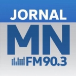 Logo da emissora Rádio Jornal Meio Norte 90.3 FM