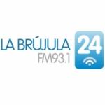 Logo da emissora Radio La Brújula 93.1 FM