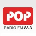 Logo da emissora Radio Pop 88.3 FM